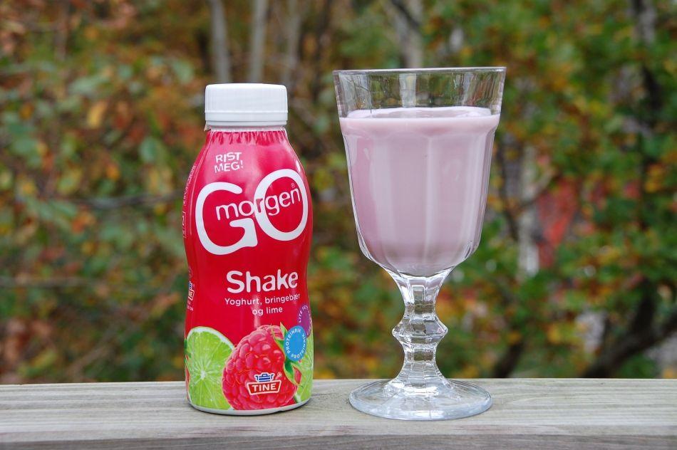 shake i flaske og glass