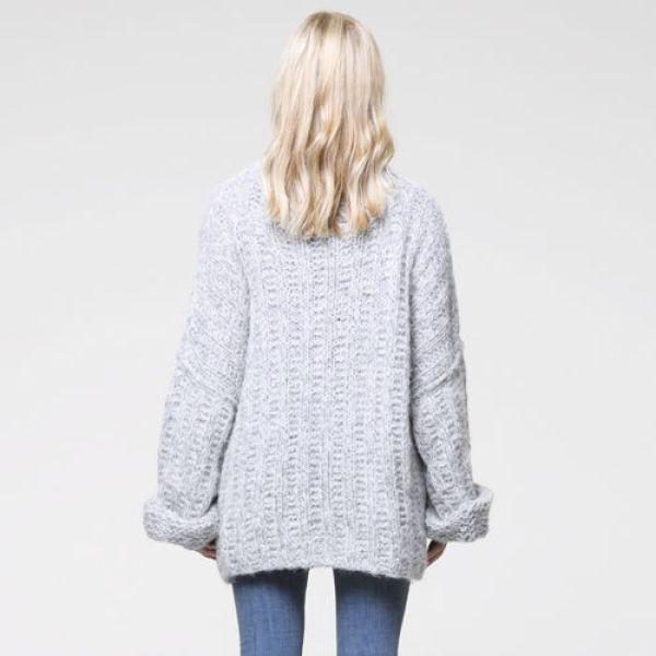 Strikkeoppskrift: Vinterens kuleste genser MinMote.no