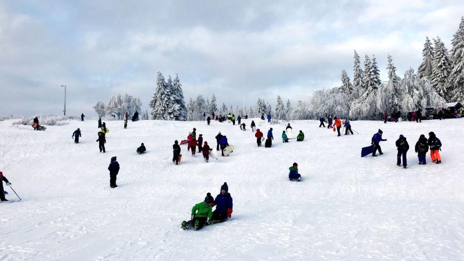 Vinter i Oslo.