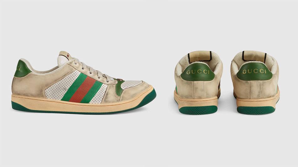 45277b73 NYE ELLER SLITT? Disse joggeskoene fra Gucci har hatt massiv oppmerksomhet  for sin slitte look