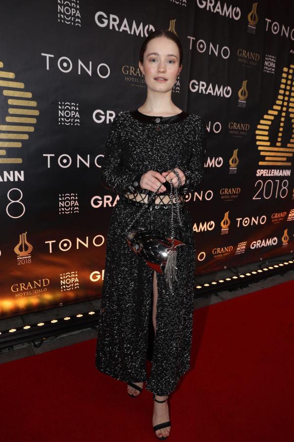 1a54ba95 LUKSUSDESIGN: Sigrid ikledd glitrende kjole fra Chanel. Foto: Mattis  Sandblad, VG