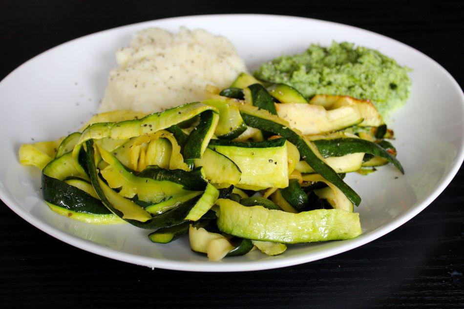 Squash, brokkoli, blomkål
