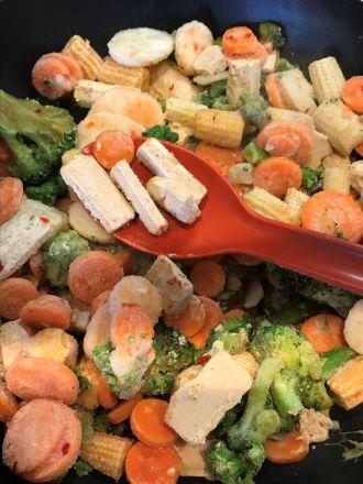 Findus wok i panna nær