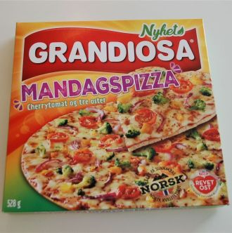 Mandagspizza pakke