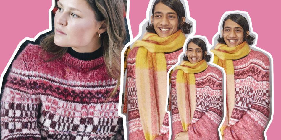 halsfelling genser